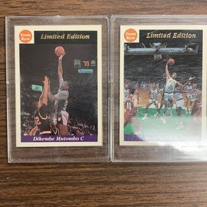 Steve Smith and Dikembe Mutombo Promo Limited Editions Front Row